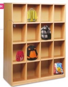 16 Compartment Bag Storage Unit thumbnail