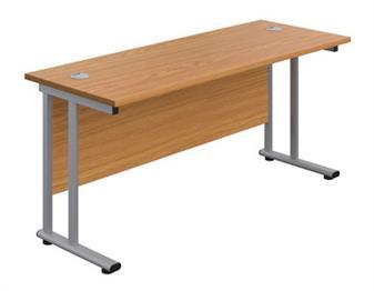 Start 600mm Deep Desk In Oak thumbnail