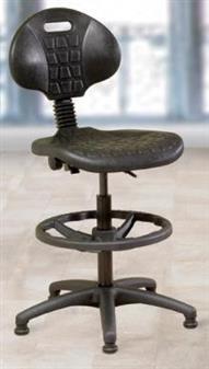 Lab D Polyurethane Lab Draughtsman Chair