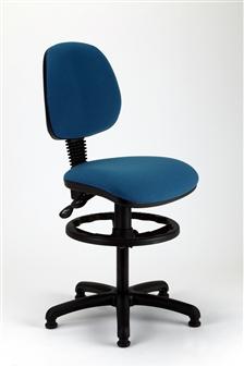 MIMPD Medium Back Draughtsman Chair - Vinyl thumbnail