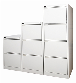 Grey Metal 2, 3, & 4-Drawer Filing Cabinets thumbnail