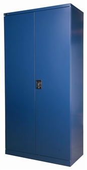 6ft Blue Stationery Storage Cupboard thumbnail