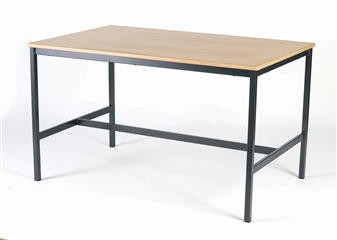 Fully Welded H-Frame Art/Science/Craft/Laboratory Table thumbnail