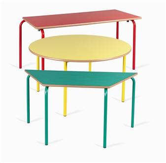 Nursery Classroom Tables Rectangular, Circular & Trapezoid thumbnail
