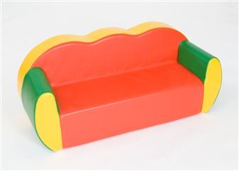 3-Seater Block Colour Sofa thumbnail