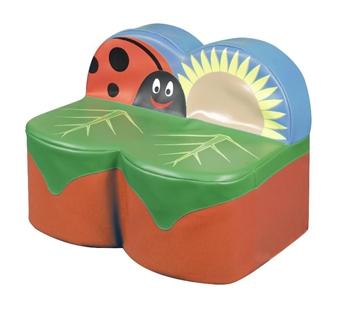 Ladybird 2-Seater Sofa thumbnail