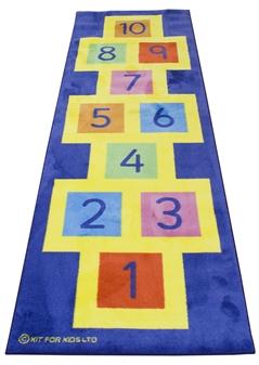 3m x 1m Hopscotch Carpet thumbnail