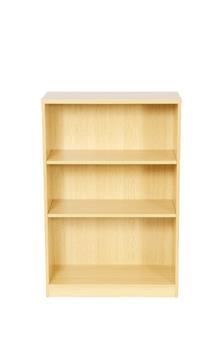 1200mm High Bookcase - Beech thumbnail
