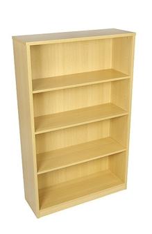 1600mm High Bookcase - Oak thumbnail