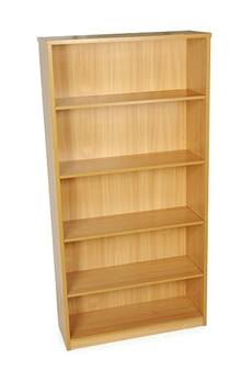 1800mm High Bookcase - Beech thumbnail