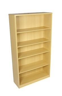 1800mm High Bookcase - Oak thumbnail