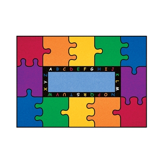 Rectangular Puzzle Rug thumbnail