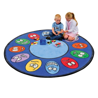 Round Expression Rug thumbnail