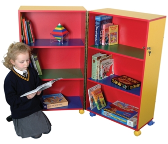 Mobile Fold Away Bookcase thumbnail