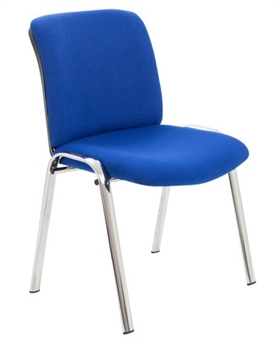 Reception / Conference Chair - Blue Fabric thumbnail