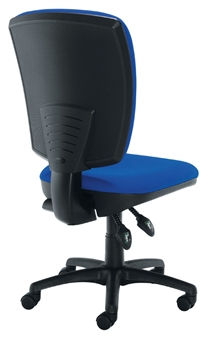 Deluxe Operator Chair - Medium Back - Back View thumbnail