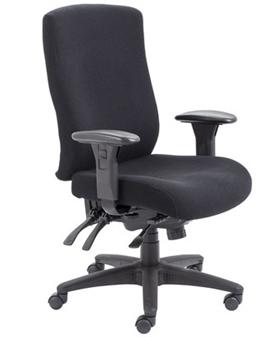 Endurance Square-Back Task Chair Black Fabric thumbnail