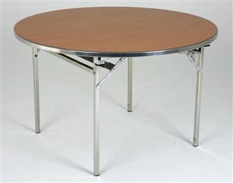 Large 6ft Diameter Heavy-Duty Lightweight Circular Folding Table thumbnail