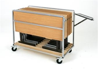 Transportation Trolley (Holds 8 Rectangular Tables) thumbnail