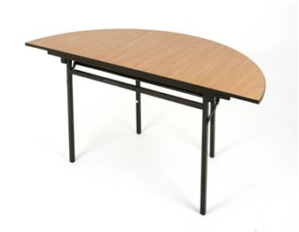Folding Semi-Circular General Purpose Table thumbnail