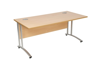 Rectangular Desk - Beech thumbnail