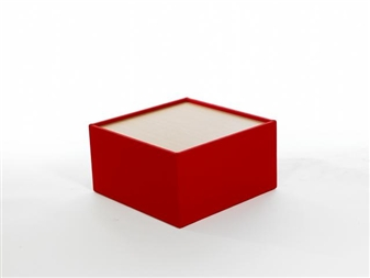 BTSW Modular Box Reception Coffee Table With Wooden Top thumbnail