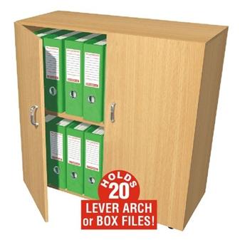 20 Box File Storage Cupboard (Mobile) thumbnail