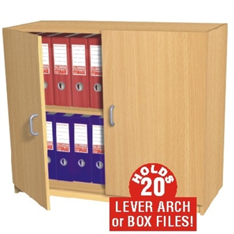 20 Box File Storage Cupboard (Static) thumbnail
