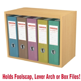 ... 5 File Wall Mounted Open Storage Cupboard thumbnail ...  sc 1 st  UK Educational Furniture & Wall Mounted Box File Open Storage Cupboards