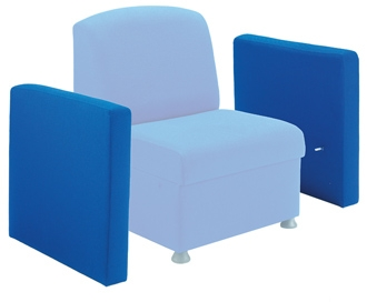 Box Reception Chair With 2 Arms thumbnail