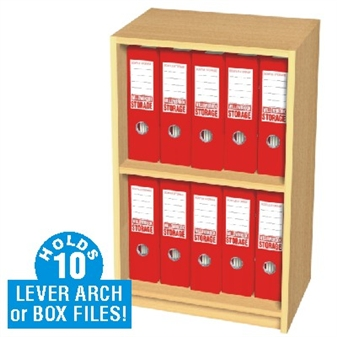 ... 10 Box File Slimline Storage Cupboard thumbnail ...  sc 1 st  UK Educational Furniture & Slimline Box File Open Storage Cupboards