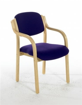 CASSIUS Beech Conference / Meeting Room Armchair thumbnail