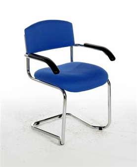 CSA Stacking Cantilever Meeting / Reception Chair - With Arms  thumbnail