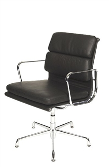 Charles Eames Style Medium Back Padded Boardroom Chair  thumbnail