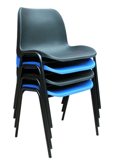 Hille General Purpose Economy Plastic Stacking Chair thumbnail