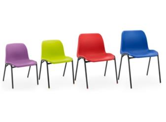 Hille Affinity Plastic Chair thumbnail