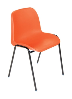 Hille Affinity Plastic Chair - Red thumbnail