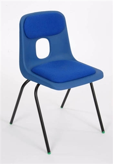Hille E-Series Plastic Chair With Seat & Back Pad thumbnail