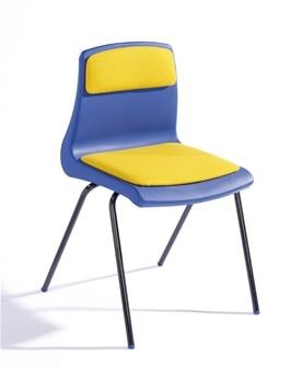 NP Chair With Upholstered Seat & Back Pad thumbnail