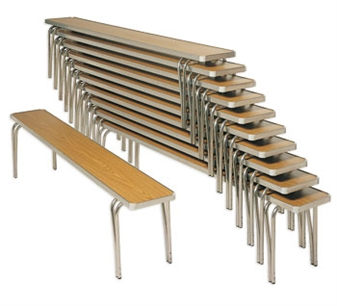 Economy Stacking Benches Stacked thumbnail