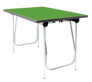 Vantage Folding Table - Pea Green