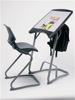 Aalborg Desk With Aalborg High Position Chair