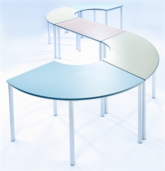 Meet Tables - Curved & Rectangular