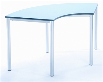Curved Meet Table