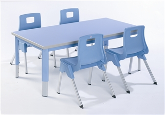 Start Right Adjustable Table - Rectangular