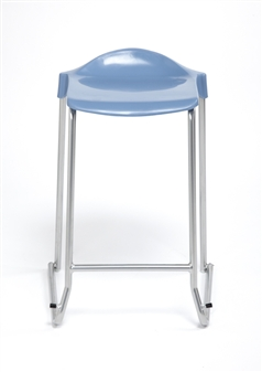 WSM Skid Base Stool - Front View