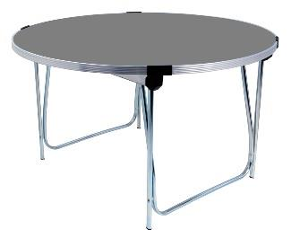 5ft Laminate Round Folding Table - Storm