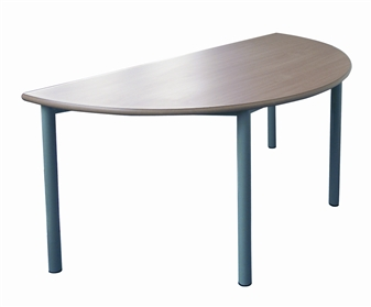 Meeting Tables With Fully Welded Frame - Semi-Circular