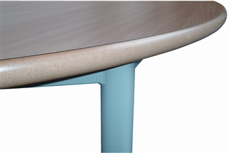 Thick MDF Top With Rounded Edge