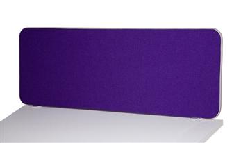Fabric Desktop Screen - Rectangular